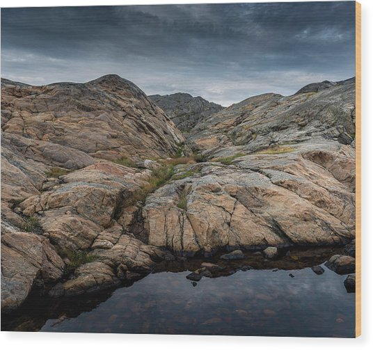 Grundsund, Sweden Wood Print