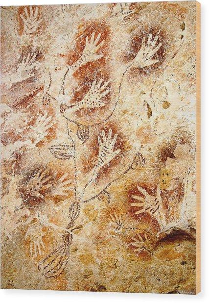 Gua Tewet - Tree Of Life Wood Print