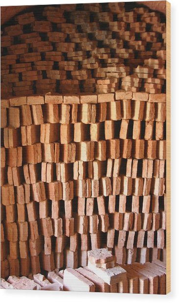 Guadix 8 Wood Print by Jez C Self