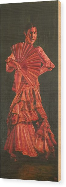 Guajiras Iv Wood Print by LB Zaftig