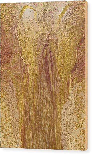 Guardian Angel Wood Print