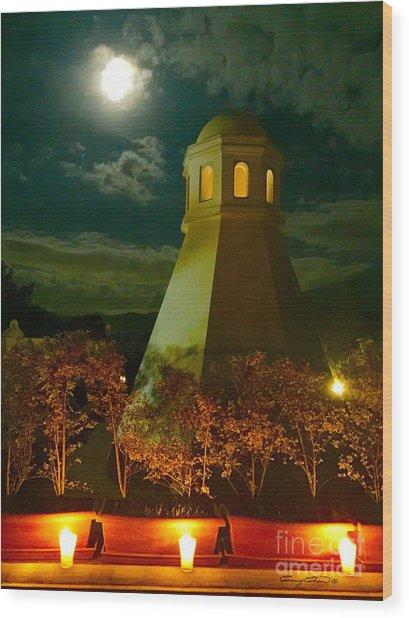 Guatemala Night Wood Print