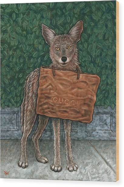 Gucci Coyote Wood Print