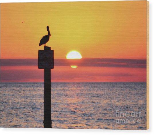 Gulf Coast Enchantment Wood Print