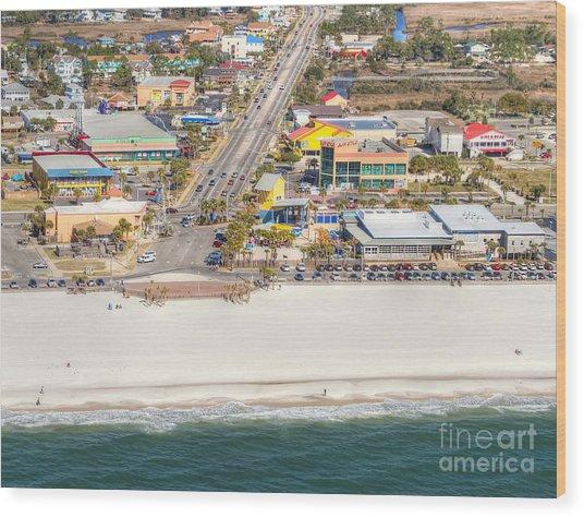 Gulf Shores - Hwy 59 Wood Print