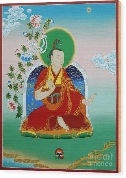 Gyalwa Choyang Wood Print