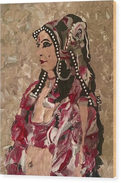 Gypsy Dancer Wood Print