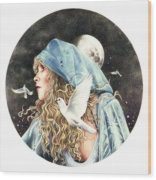 Gypsy Wood Print