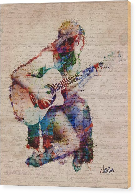 Gypsy Serenade Wood Print