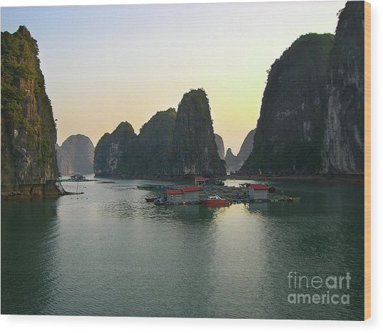 Ha Long Bay Wood Print