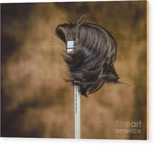 Hairbrush Wood Print
