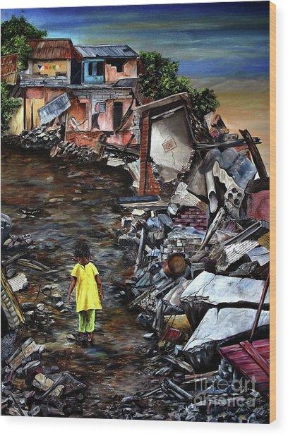 Haiti Out Of The Rubble Hope Wood Print