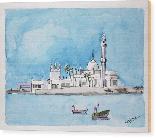 Haji Ali Mumbai Wood Print