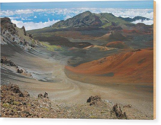 Haleakala Grandeur Wood Print