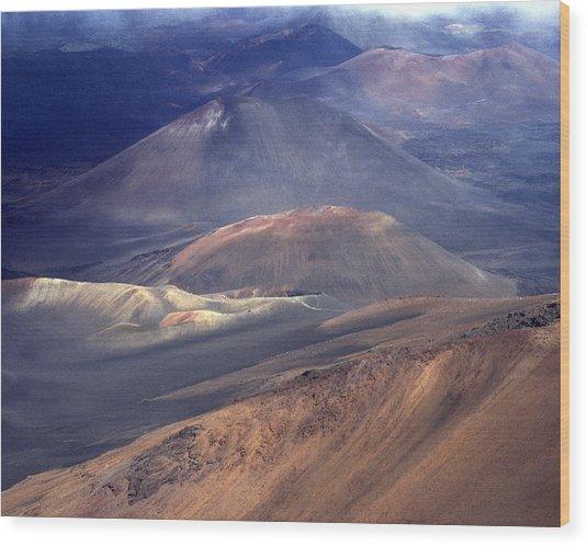 Haleakala, Maui I Wood Print