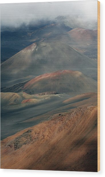 Haleakala, Maui IIi Wood Print