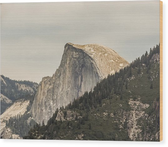 Half Dome Yosemite Valley Yosemite National Park Wood Print