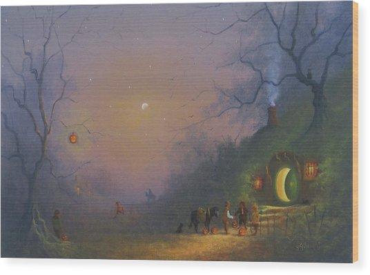 A Shire Halloween  Wood Print