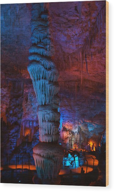 Halls Of The Mountain King 3 Wood Print