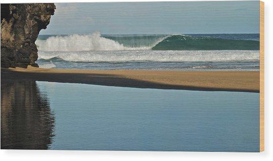 Hanakapiai Beach 1287b Wood Print