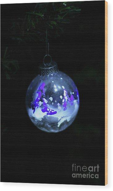 Handpainted Ornament 001 Wood Print