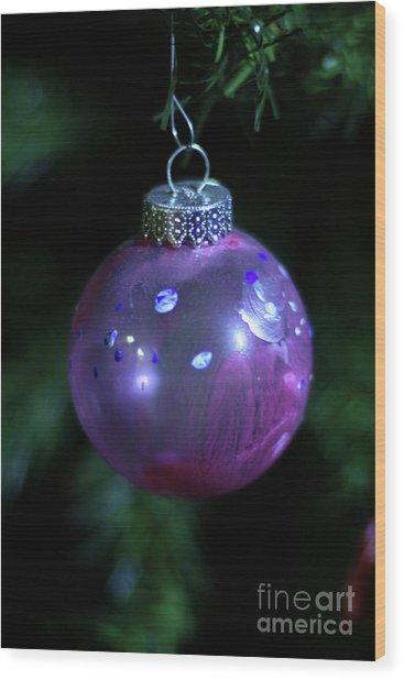 Handpainted Ornament 002 Wood Print
