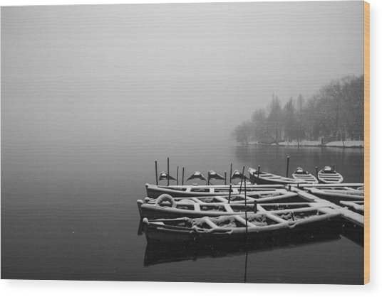 Hangzhou's West Lake Wood Print