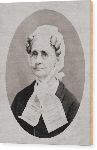 Hannah Simpson Grant 1798-1883, Mother Wood Print by Everett