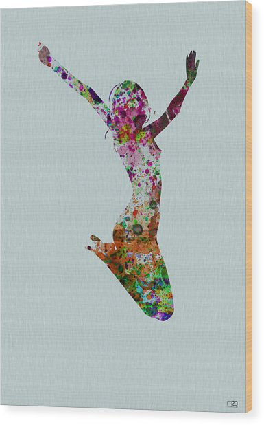 Happy Dance Wood Print