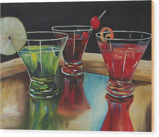 Happy Hour 2007  Wood Print by Torrie Smiley