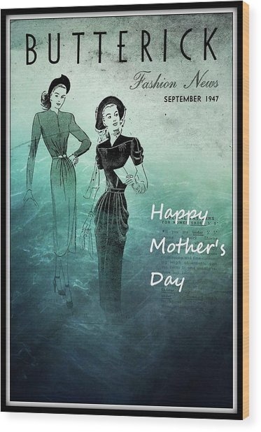Happy Mother's Day Wood Print