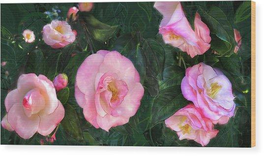 Harbingers Of Spring Wood Print