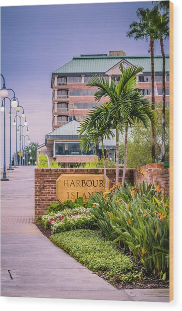 Harbour Island Retreat Wood Print