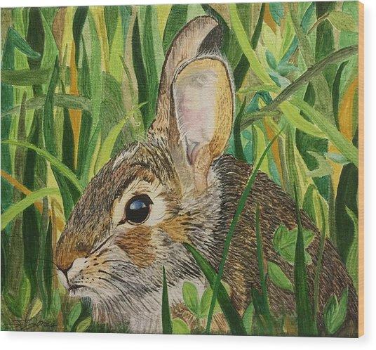 Hare's Breath Wood Print