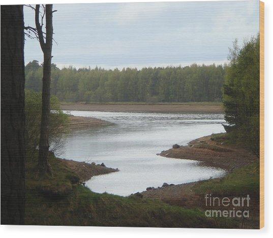 Harlaw Reservoir 1 Wood Print