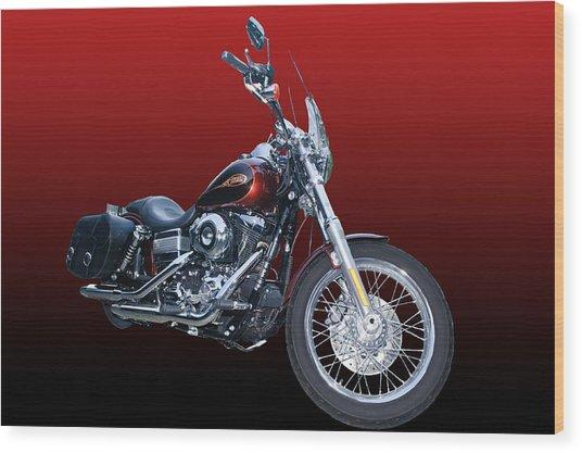 Harley Bike Wood Print