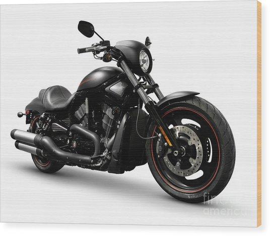 Harley Davidson Vrscd Night Rod Special  Wood Print