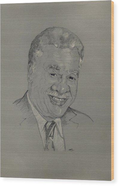 Harold Washington  Wood Print