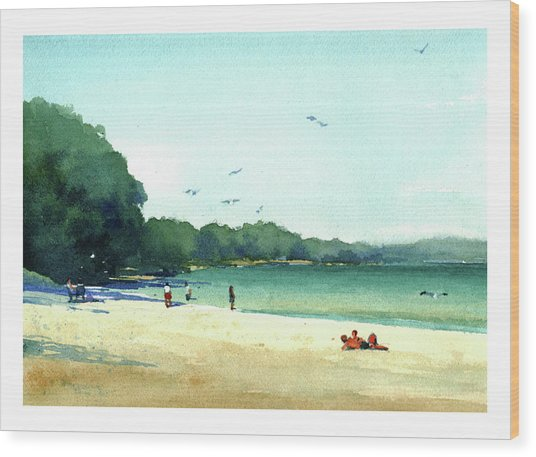 Harrington Beach, Wisconsin Wood Print