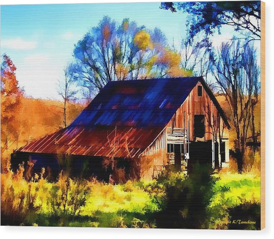 Harrison Barn Wood Print