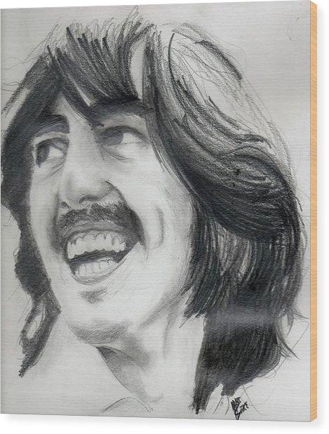 Harrison's Smile Wood Print