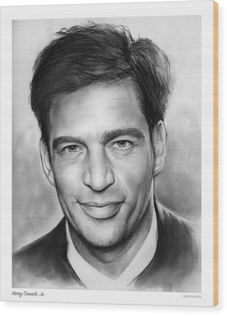 Harry Connick, Jr. Wood Print