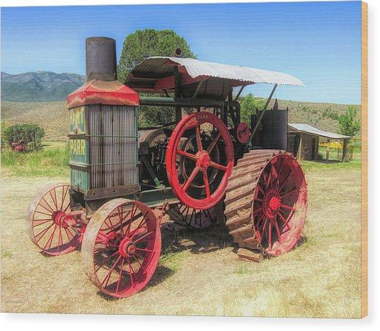 Hart Parr 1911 30 60 Tractor Wood Print