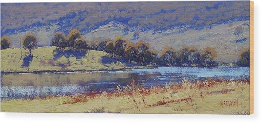 Hartley Dam Wood Print