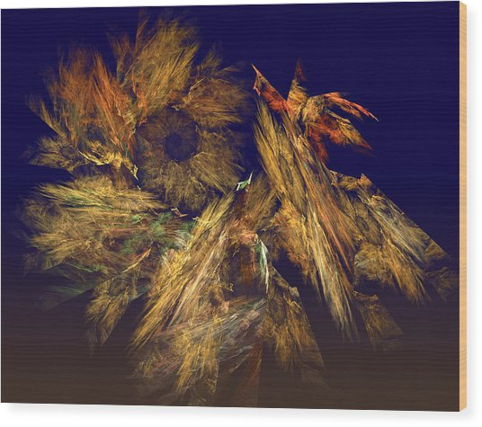 Harvest Of Hope Wood Print