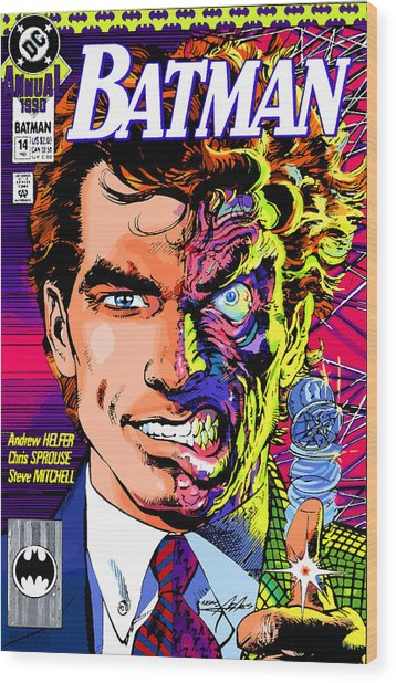 Harvey Dent  Wood Print