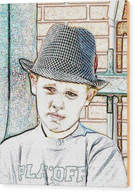 Hat Of A Hero Wood Print by Lynn Reid