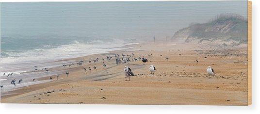 Hatteras Island Beach Wood Print