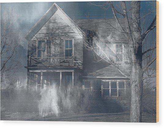 Haunted Wood Print