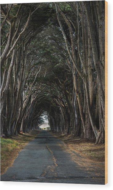 Haunting Wood Print